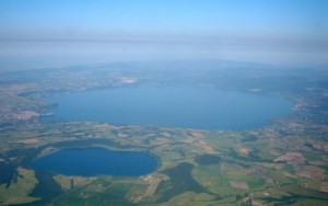 Martignano and Bracciano lakes