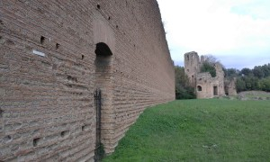 Aurelian wals Rome car tour