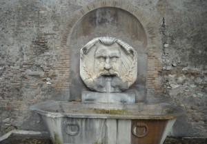 Fountain of Aventino - Rome car tours