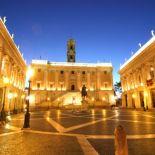 Campidoglio night Rome