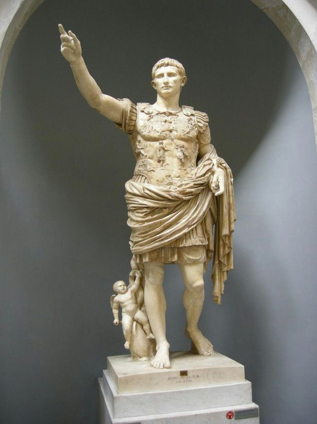 Colossal statue of Claudius - Vatican tours