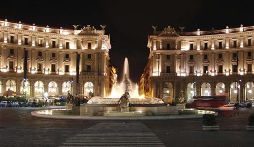 Night Rome car tour