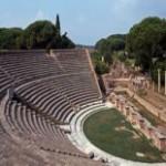 Ostia antica teatro romano