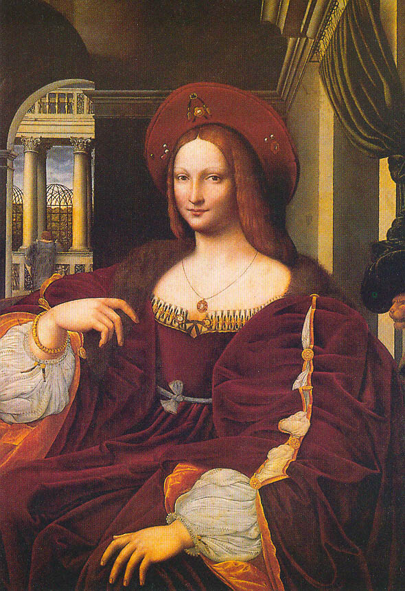 Privat evening tour of Rome - Isabella_di_Aragona_as_Mona_Lisa Raffaello
