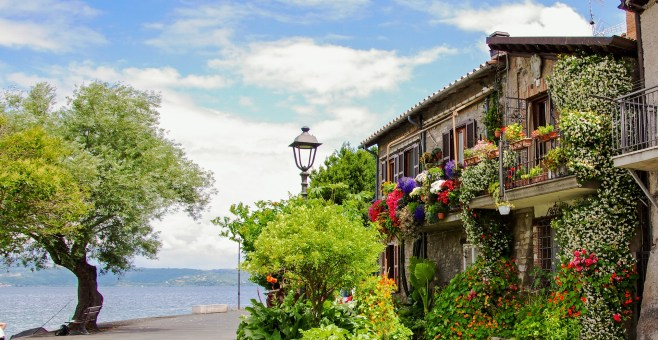 Private tours around rome Trevignano Bracciano lake