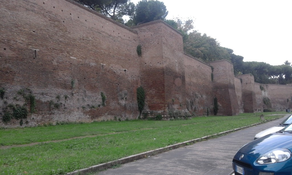 Rome car tour - Mura Aureliane