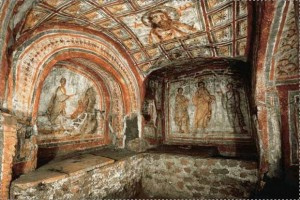 Rome-catacombs-of-Saint-Sebastian- Rome car tours