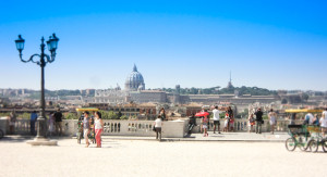 Panoramic tour of Rome