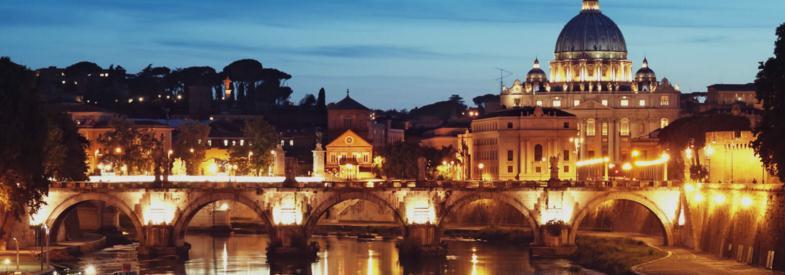 Rome private night tour