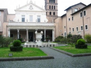 Rome private tour Santa Cecilia