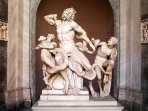 Statua del Laoconte - Vatican museum tour