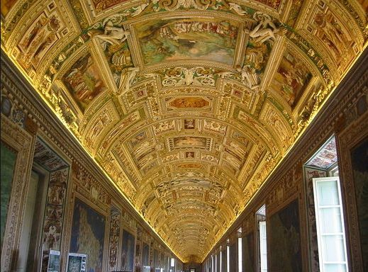 THE GALLERY OF MAPS - Vatican museum tour