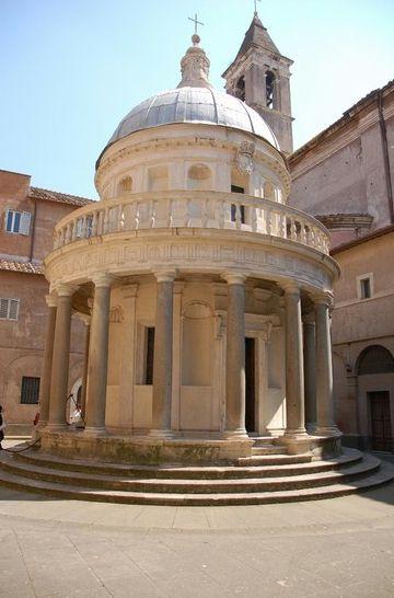 Tempietto del Bramante Roma - Car tours of rome