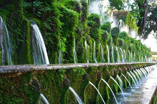 The 100 fountains - Tivoli private tour