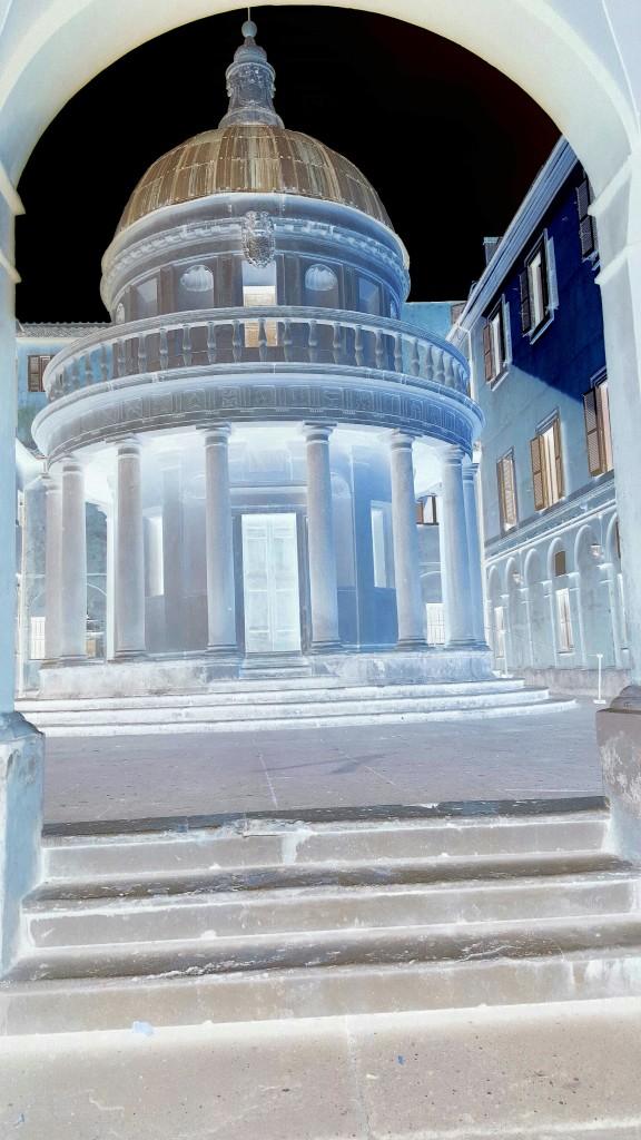 The Bramante temple in Rome
