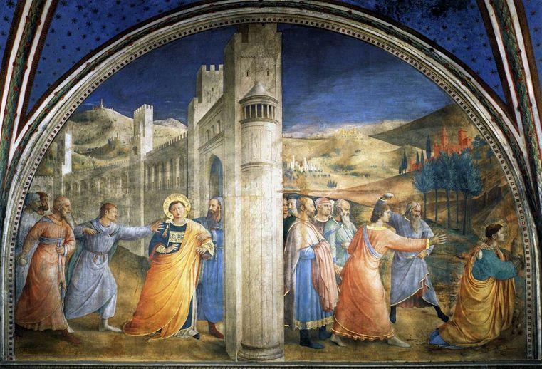 The Martyrdom of Saint Stephen - Vatican museum tour
