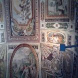 Villa D'Este soffitto - Tivoli private tour