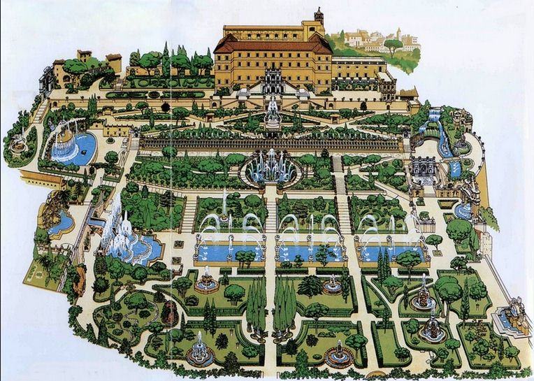 Tivoli gardens map