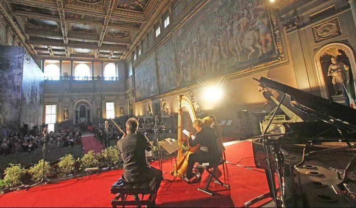 Villa strozzi Florence music excursion