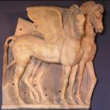 etruschi tarquinia cavalli alati