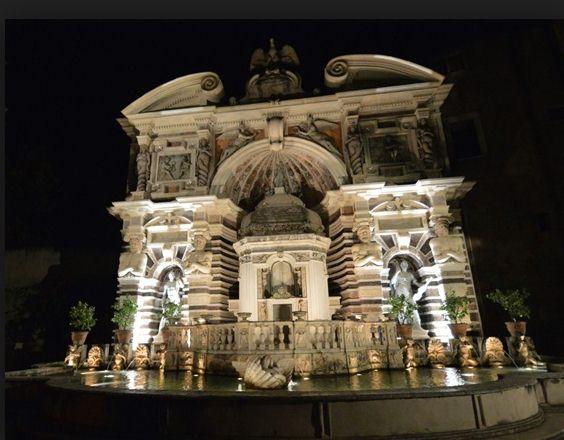 fontana dell organo - tivoli tour