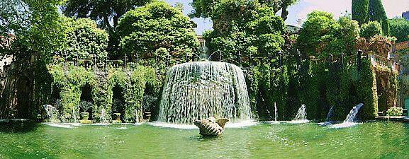 fontana dell ovato - Tivoli car excursion