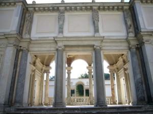 loggia-degli-amanti-Villa-Giulia-Roma private car tour