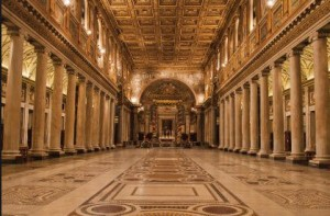 santa maria maggiore basilica - Rome night private tours