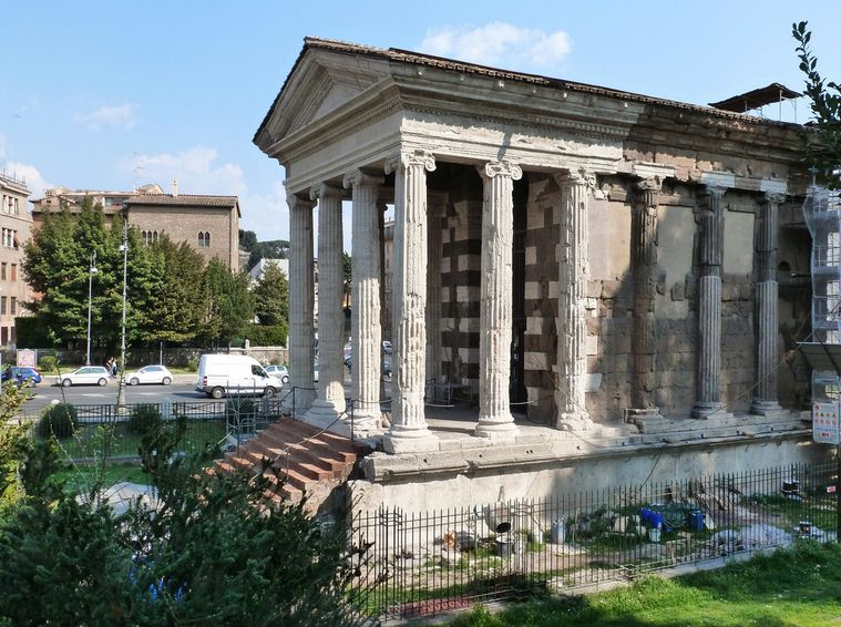 tempio di portuno Rome private tour