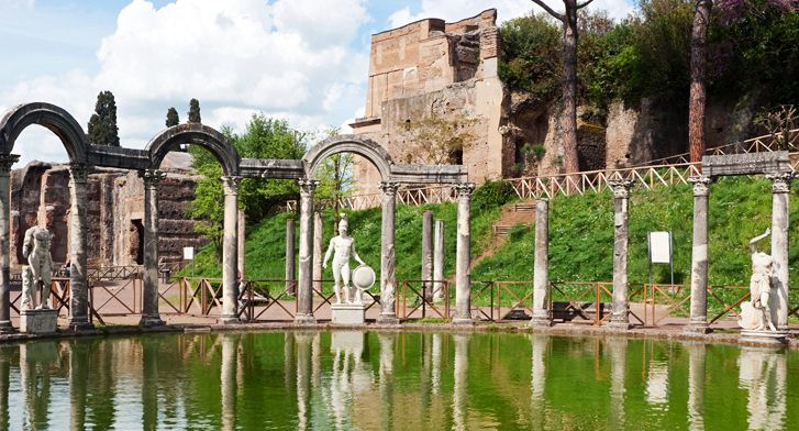 villa adriana car excursion