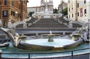 Площад Испания - Екскурзовод в Рим