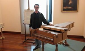 Форте Пиано 1722 на Бартоломео Кристофори - Музей на музикалните инструменти в Рим - Адел екскурзовод в Италия