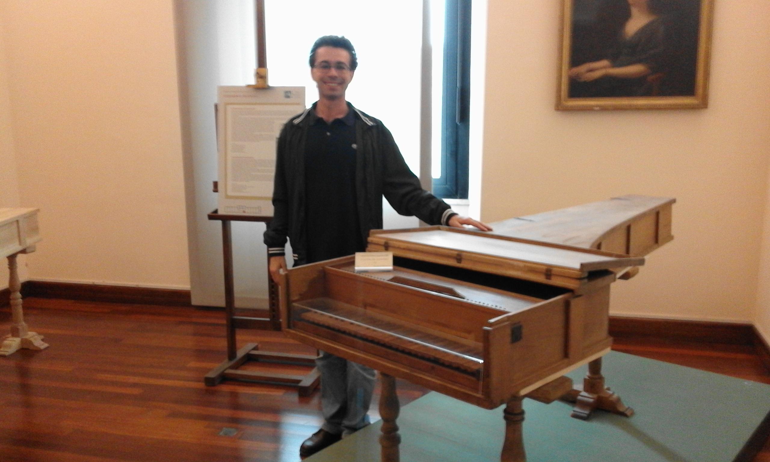 Форте Пиано 1722 Бартоломео Кристофори -Музей музыкальных инструментов в Риме - Адел гид в Риме
