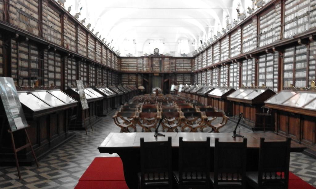 антична библиотека касанатенсе рим