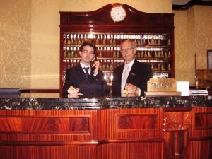 Adel Karanov and renato Zanzott - ROMA REGINA BAGLIONI - Italy luxury tours