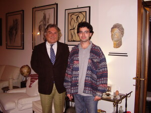 Attilio Taverna and Adel Karanov - Rome private guide