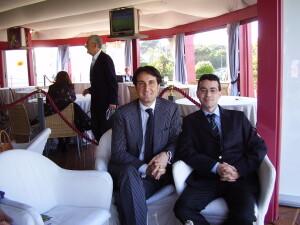 Ettore Bilotta and Adel Karanov - fashion Italy