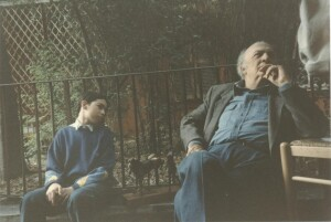 Federico Fellini & Adel Karanov - Galleria vittoria in Rome
