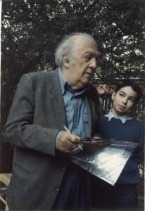 Federico Fellini - Adel Karanov - via del Babuino - Italy