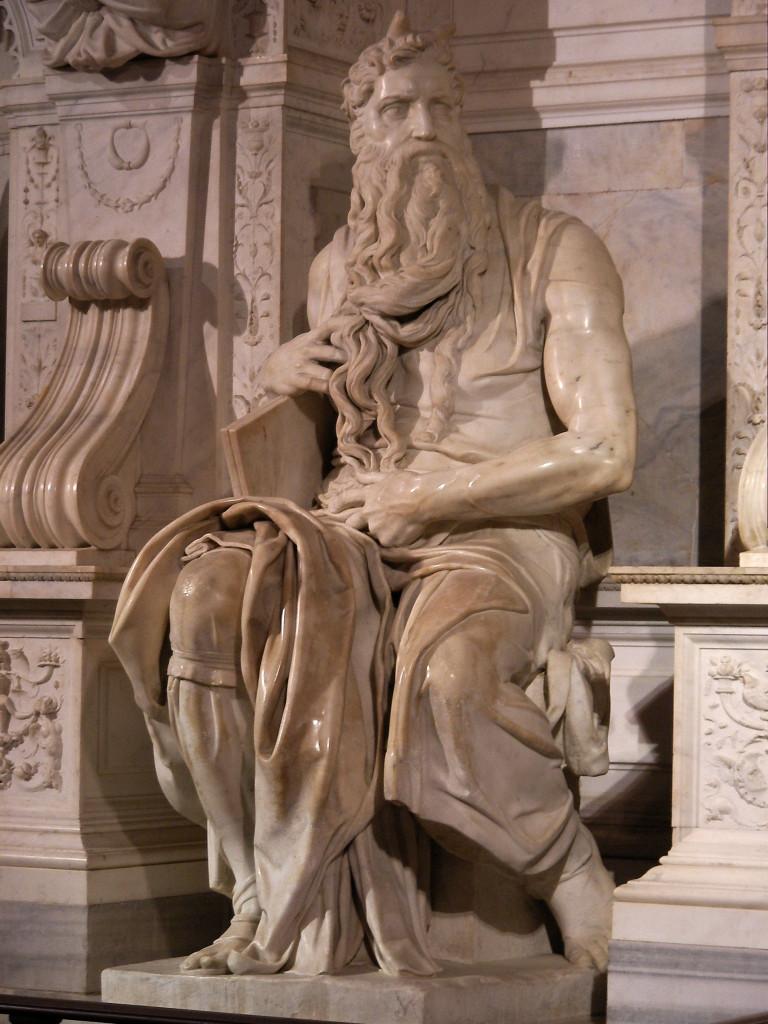 San Pietro in Vincoli, Moses von Michelangelo
