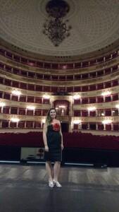 Mila Pavolva - Teatro la scala di Milano