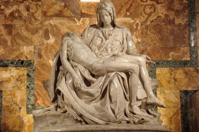 Pieta - Michelangelo - Vatican tour