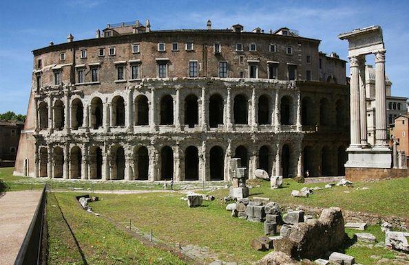 Teatro Marcello - Rome private guides