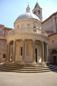 Tempietto del Bramante Roma - Car tours in rome