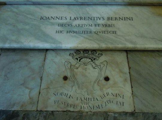 Tomba di Bernini - Rome tours