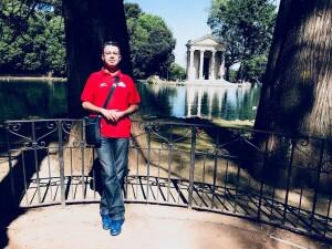 adel karanov - Rome local guideRoma villa Borghese