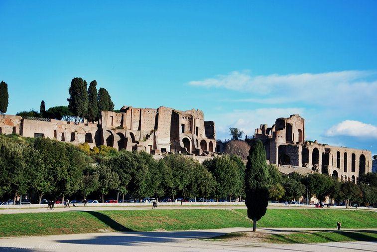 circo massimo e palatino - Rome