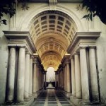 Finta prospettiva di Borromini - Private tour of Rome