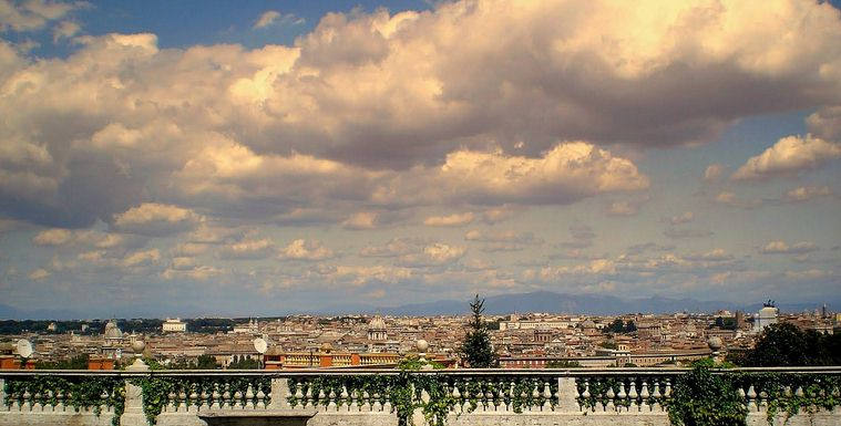 panoramic rome car excursions
