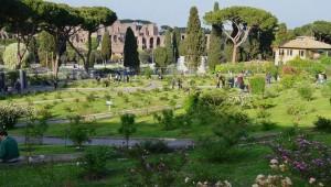 rose garden rome tour